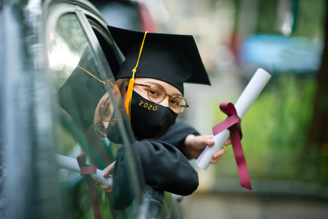 A drop in births during and following the Great Recession is a leading reason for the expected drop in high school graduates, though classes will be more diverse. (GettyImages/ArtMarie)