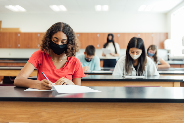 """In order to be effective, high stakes tests """"should be a single star in a constellation of data,"""" says a new report from the assessment company NWEA. says(GettyImages/RichVintage)"""