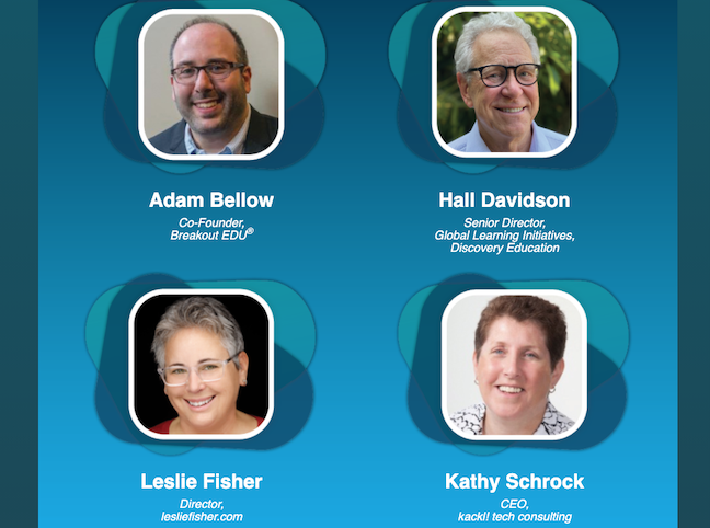 Learn about new ed-tech software and devices at FETC's always popular and always humorous Tech Share live keynote, which takes place at 2 pm.