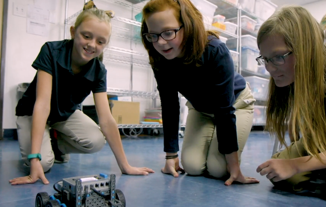 From DA's FETC: Coding and other robotics projects more readily teach students that there are multiple and iterative ways to solve problems.