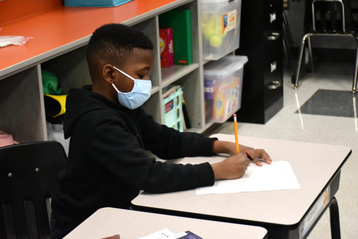 Nearly two-thirds of students are attending classes in-person in the York County School Division in Virginia.