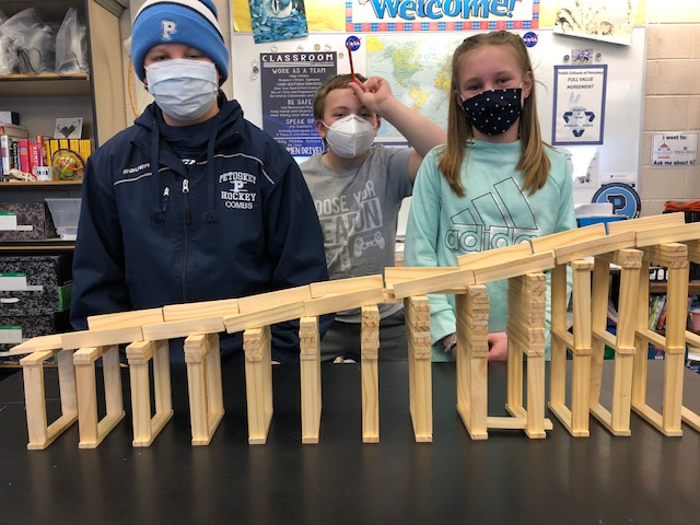 All buildings in Public Schools of Petoskey have been open all school year, except for a month when the high school had to close.
