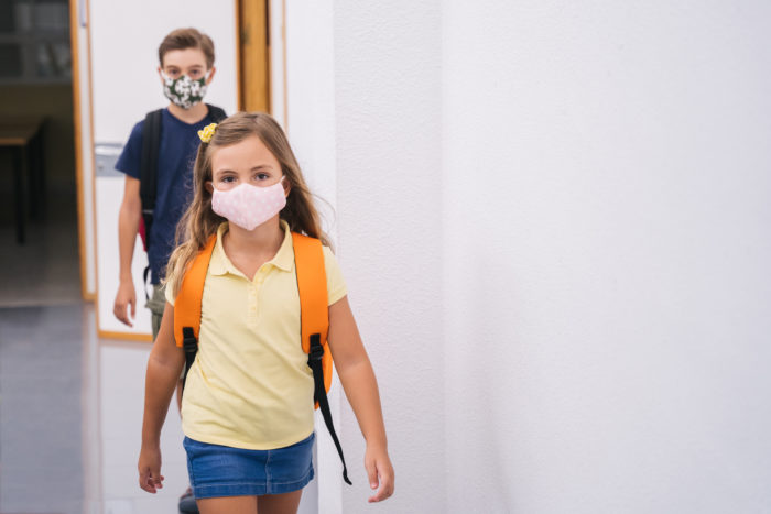 A judge is expected to rule Friday on a lawsuit filed by parents from several counties alleging that Florida governor's ban on school mask mandates violates state constitution. (AdobeStock)