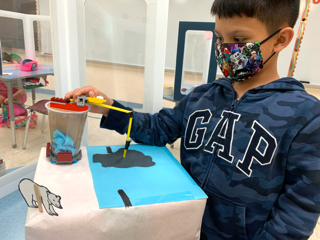 A student in Harlingen ISD in Texas works on a project. Superintendents in the state now have more leeway to mandate masks.